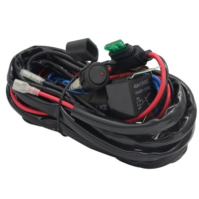 Ampper Elite Pro LED Light Wiring Harness Kits for Car, Van and Motocycle (2 Lead)