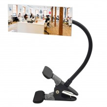 Rectangle Clip On Desk Mirror Convex Cubicle Mirror for Personal Safety and Security